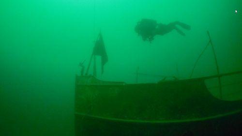 «C'est devenu une épave mondialement connue» : 50 ans après son naufrage à Annecy, comment le France a forgé sa légende
