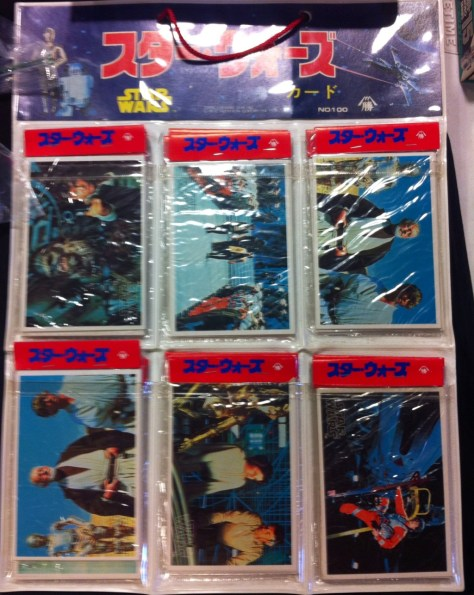 Japanese Star Wars Cards