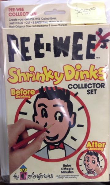 Pee-wee Shrinky Dink