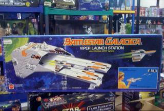 Battlestar Galactica Viper Launch Station