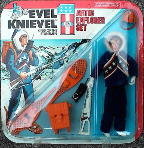 Evel Knievel Artic Explorer Set