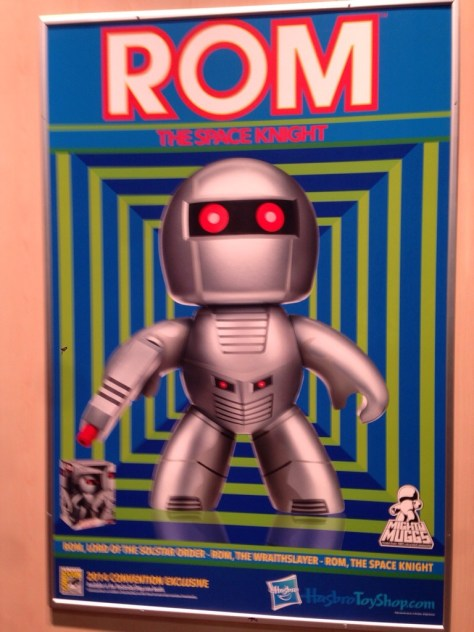 SDCC 14: Rom the Space Knight