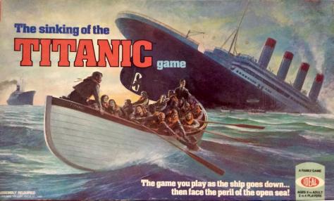 Sinking of the Titanic Board Game