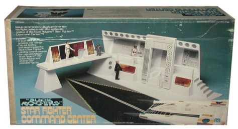 Buck Rogers Star Fighter Command Center