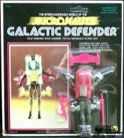 Galactic Defender Carded