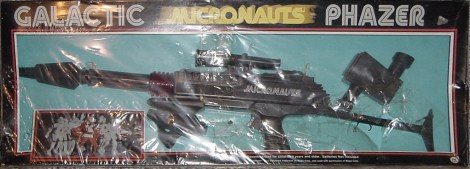 Micronauts Phazer Rifle