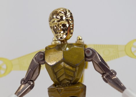 Mego Micronauts Space Glider Gold