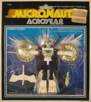 Micronauts Acroyear Carded