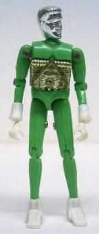 Mego Micronauts Opaque Time Traveler