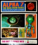Outer Space Men Alpha 7