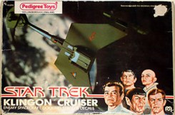 Mego Star Trek The Motion Picture Klingon Cruiser Front
