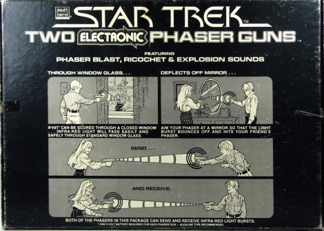 South Bend Star Trek The Motion Picture Electronic Phaser
