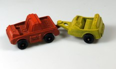 TootsieToy Star Base Zues Truck and Trailer