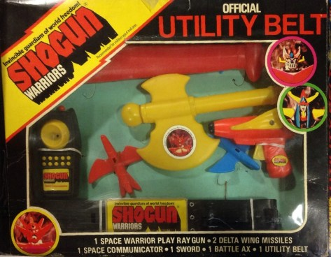 Shogun Warriors Utility Belt