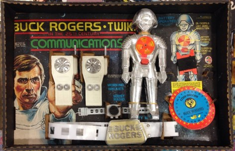Buck Rogers and Twiki Communicators