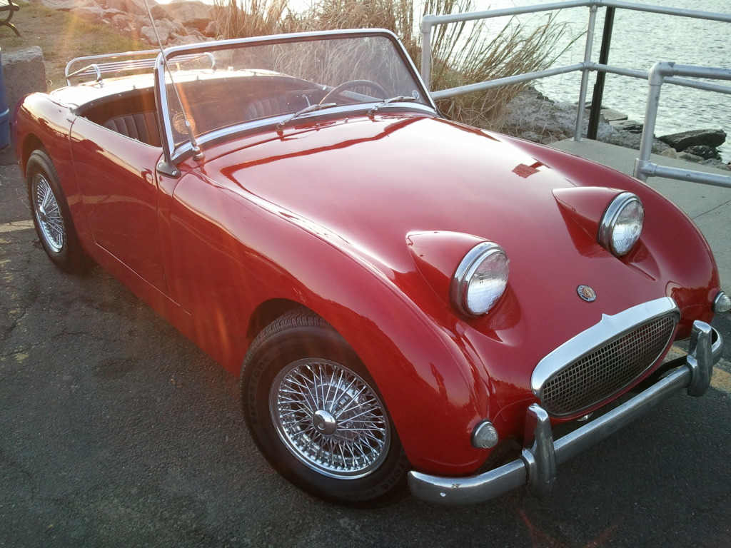 1961 Austin Healey Bugeye Sprite for sale named    Abby    Here s