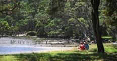 People enjoying the Estuary
