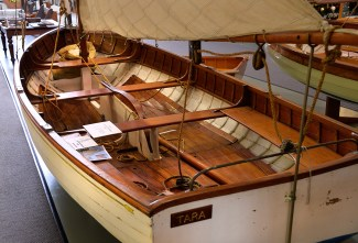 The last Logan kauri yacht