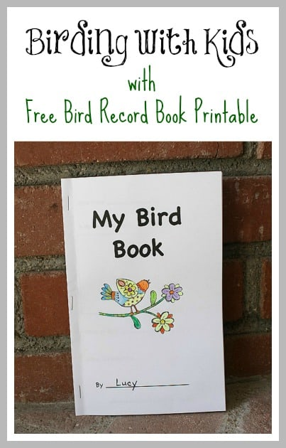 Free Printable Bird Book for Birding with Kids