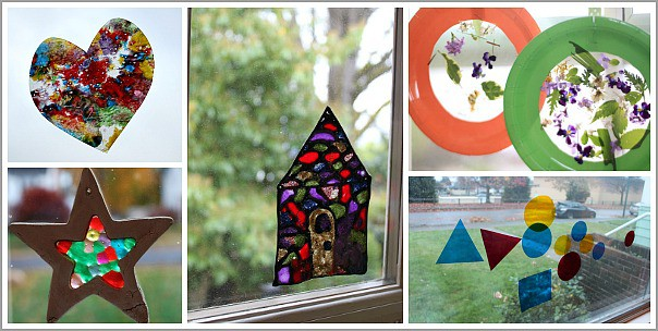 50 Window Art Projects For Kids For Every Season