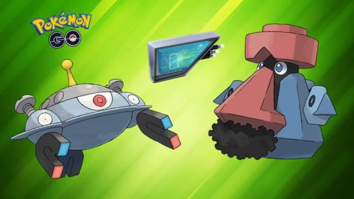 Assim como os Módulos de Atrair Glacial e Musgo, o Magnético também faz com que certos Pokémon evoluam.