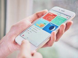 App de saúde e bem estar