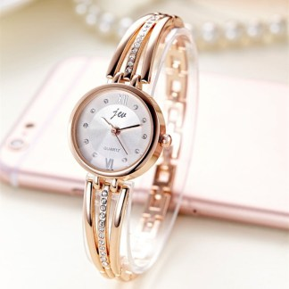 03af10731e4 You re viewing  New Fashion Rhinestone Watches Women Luxury Brand Stainless  Steel Bracelet watches Ladies Quartz Dress Watches reloj mujer AC070 14.99   9.99 ...
