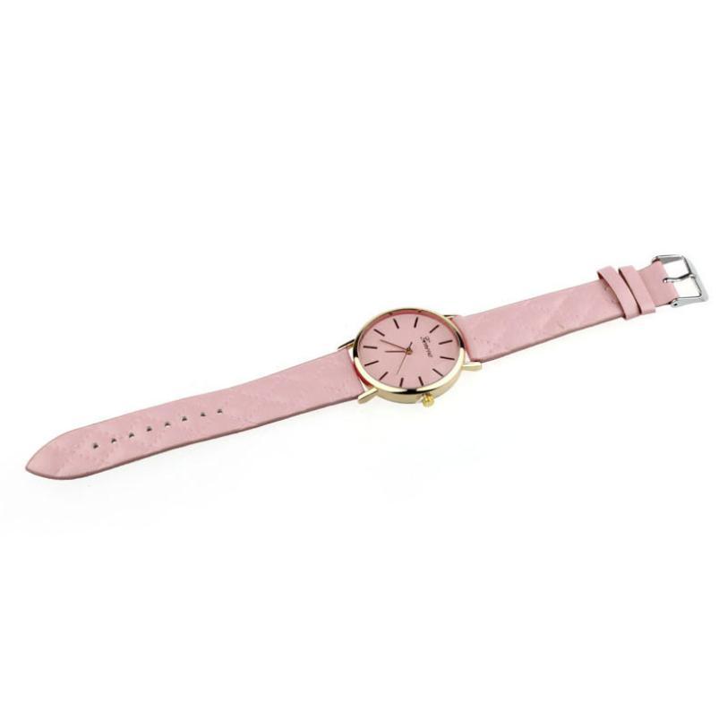 86807fd61 New watch women Checkers Faux lady dress watch, women's Casual ...