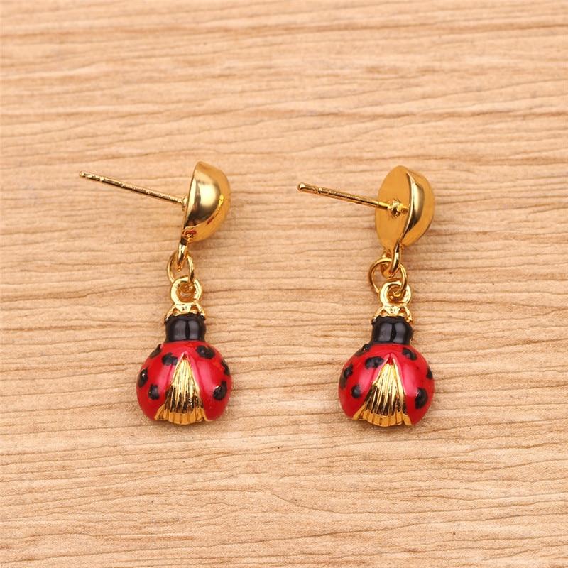 Ladybug Charm Ladybug Earrings Ladybird Design Bug Earrings Ladybird Earrings Silver Bug Earrings Ladybird Jewellery Ladybug Jewellery