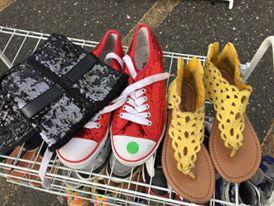 Shoes... shoes... shoes... {Photo credit (c) Kim M. Bennett, 2016}
