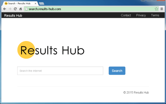 results hub search