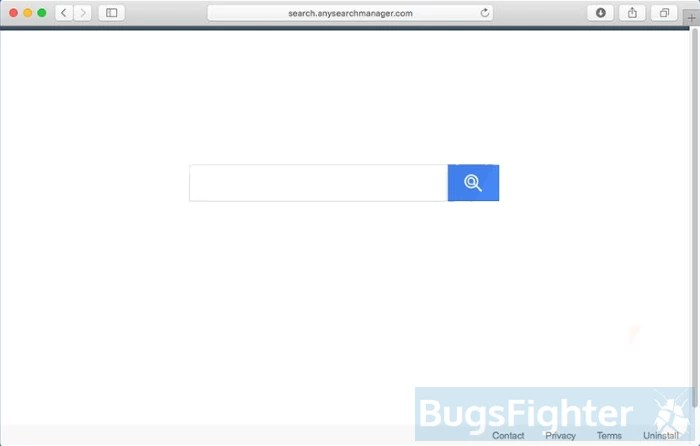How to remove Any Search Manager (Mac) | BugsFighter