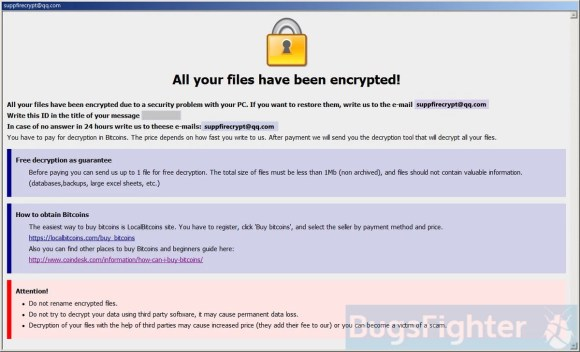 dharma-fire Ransomware