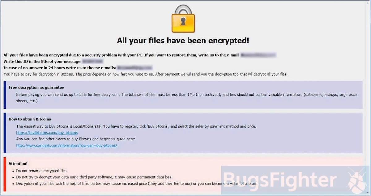 How to remove Dharma-Amber Ransomware and decrypt  amber files