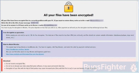 dharma-frend Ransomware