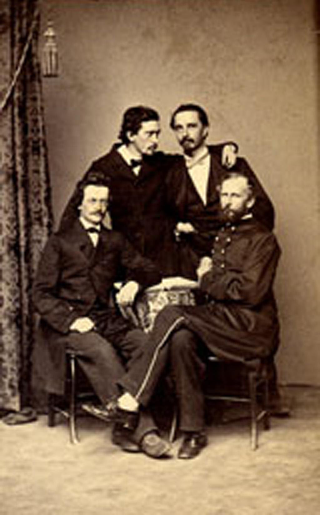 The Megatherium Club (c.1864)