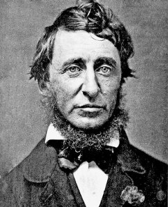 Henry David Thoreau, as photographed by Benjamin D Maxham, in June 1856