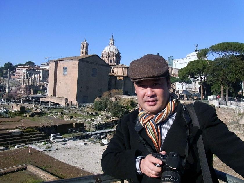 体重93kg 2011年:ローマにて