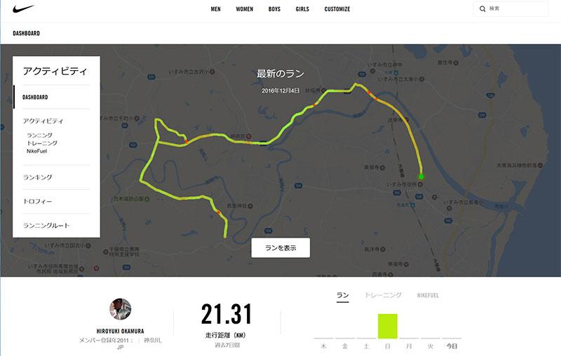 千葉いすみマラソン(増田明美杯)Nile+
