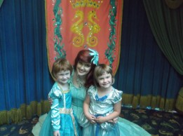 Ariel and The Littles.