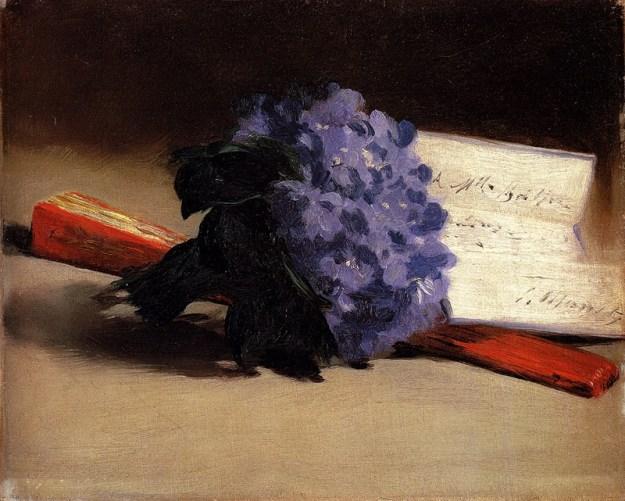 Edouard Manet - Bouquet of Violets