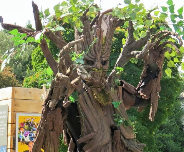 A talking tree?