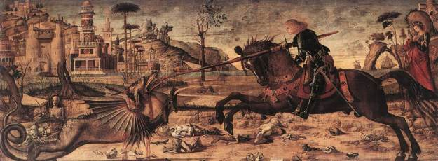 Vittore Carpaccio - St George and the Dragon (1502)