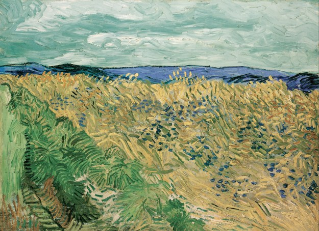 'Wheatfield with Cornflowers (1890) - Vincent Van Gogh (Public Domain)