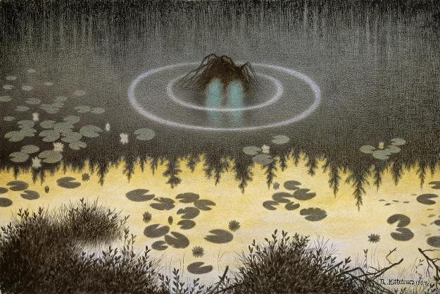 Photo Six by By Theodor Kittelsen - 2. Nasjonalmuseet: No.21. kittelsen.efenstor.net, Public Domain, https://commons.wikimedia.org/w/index.php?curid=1340906