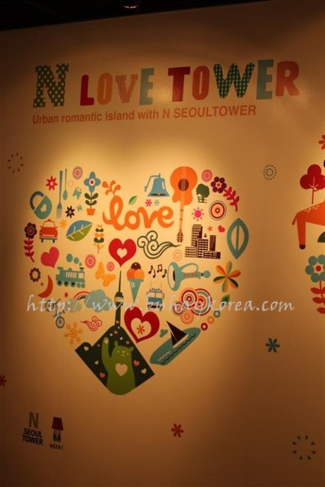 N Seoul Tower is all about love!