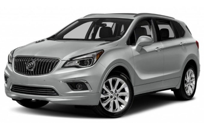 2020 Buick Envision Exterior