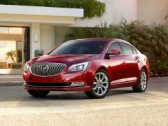 2014 Buick Lacrosse Receives 5-Start Safety Rating