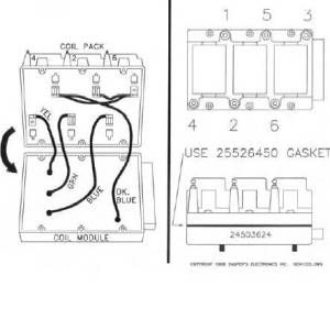 Ignition Module Plug & Coil Pack Wiring