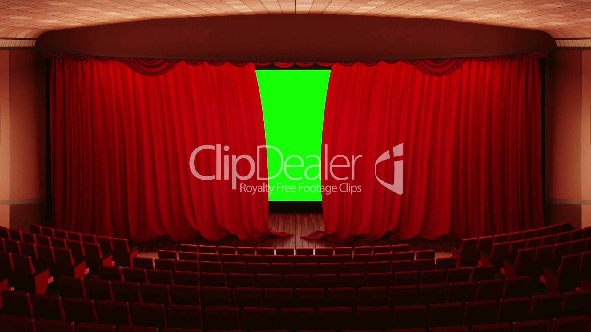 Opening Theater Cinema Curtains Royalty Free Video And Stock Footage